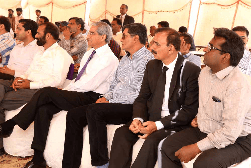 Earth Breaking Ceremony of CPSP, KSK Campus