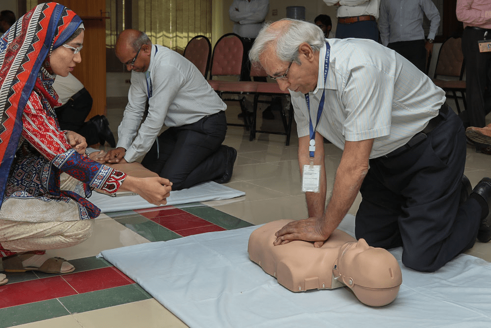 Hands on CPR for CPSP Staff