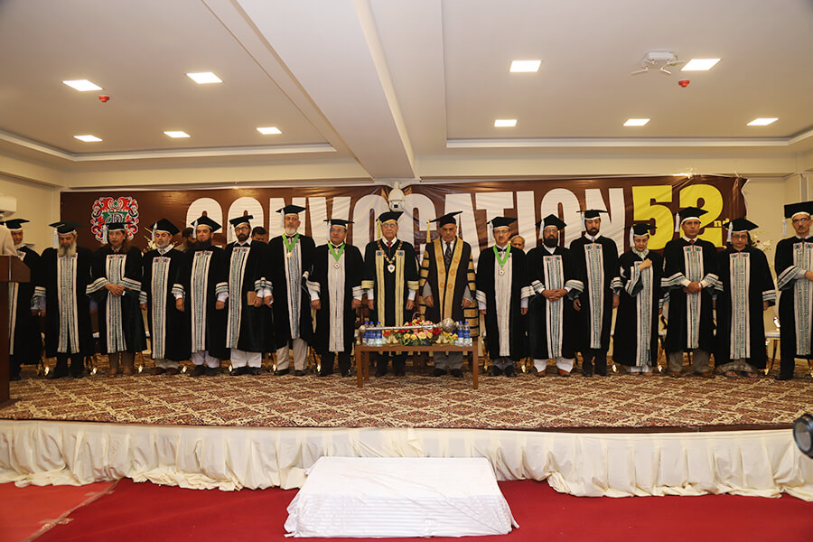 52nd Convocation Multan